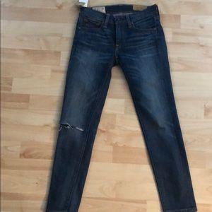 Ralph Lauren skinny crop jeans,low rise.